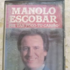 Casetes antiguos: CASETE MANOLO ESCOBAR. Lote 202012445
