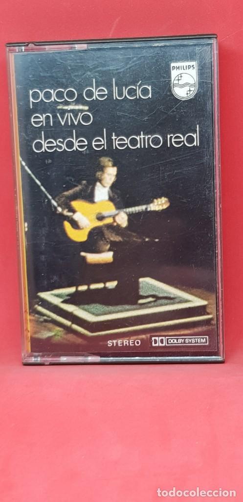 PACO DE LUCÍA EN VIVO DESDE EL TEATRO REAL (Música - Casetes)