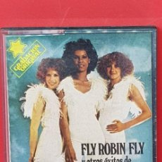 Casetes antiguos: SILVER CONVENTION. GRABACIÓN ORIGINAL 'FLY ROBIN FLY'. Lote 202027710