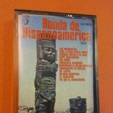 Casetes antiguos: RONDA DE HISPANOAMÉRICA VOL 3. COLUMBIA ESTEREO. Lote 202327325