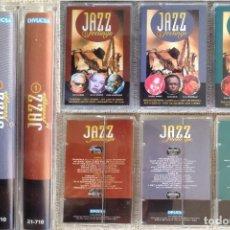Casetes antiguos: JAZZ FEELINGS - (DAVIS, ARMSTRONG, MINGUS, BASIE ....) - 3 CASETE - DIVUCSA, 1995 EDICIÓN ESPAÑOLA. Lote 202549160