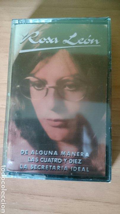 CASETE ROSA LEÓN, DE ALGUNA MANERA, LAS CUATRO Y DIEZ...PRECINTADO (Música - Casetes)