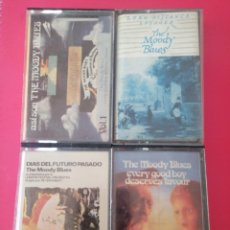 Casetes antiguos: LOTE 4 THE MOODY BLUES CASSETTE CASETE CINTA. Lote 202774668