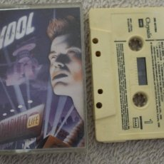 Casetes antiguos: CASETE BILLY IDOL CHARMED LIFE. Lote 202822366