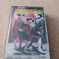 Casetes antiguos: CINTA CARNAVAL DE CADIZ COMPARSA LA DIVINA COMEDIA. Lote 221983830