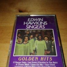 Casetes antiguos: EDWIN HAWKINS SINGERS - GOLDEN HITS - HAPPY DAYS 2604424 - EDICIÓN HOLANDESA. Lote 203538818