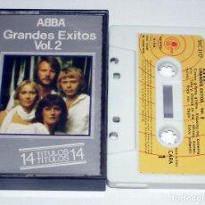 Cassetes antigas: CINTA CASSETTE - ABBA - GRANDES EXITOS VOLUMEN 2. Lote 203616266