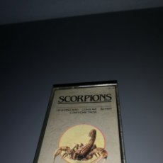 Casetes antiguos: EST 3. C35. CINTA CASSETTE. SCORPIONS. I'M GOING MAD LEAVE ME ACTION LOMESOME CROW. Lote 204010687