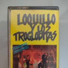 Casetes antiguos: CASSETTE LOQUILLO Y LOS TROGLODITAS GRANDES EXITOS 1987 RARO. Lote 204013405