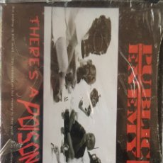 Cassetes antigas: PUBLIC ENEMY THERES A POISON GOIN ON... CASSETTE. Lote 204073007