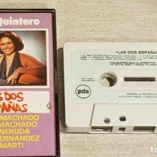 Casetes antiguos: PACA QUINTERO / LAS DOS ESPAÑAS / CENTENARIO MIGUEL HERNÁNDEZ / MC - PDS-1976 / IMPECABLE.. Lote 204187150