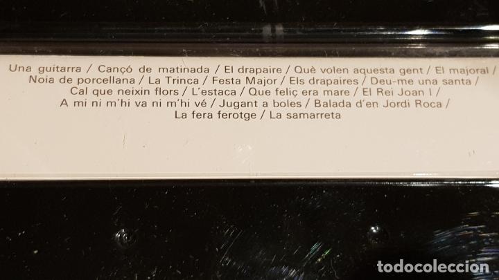 Casetes antiguos: DIES I HORES DE LA NOVA CANÇÓ / DOBLE MC - EDIGSA-1979 / DESPRECINTADOS-SIN ESTRENAR. - Foto 3 - 204254143