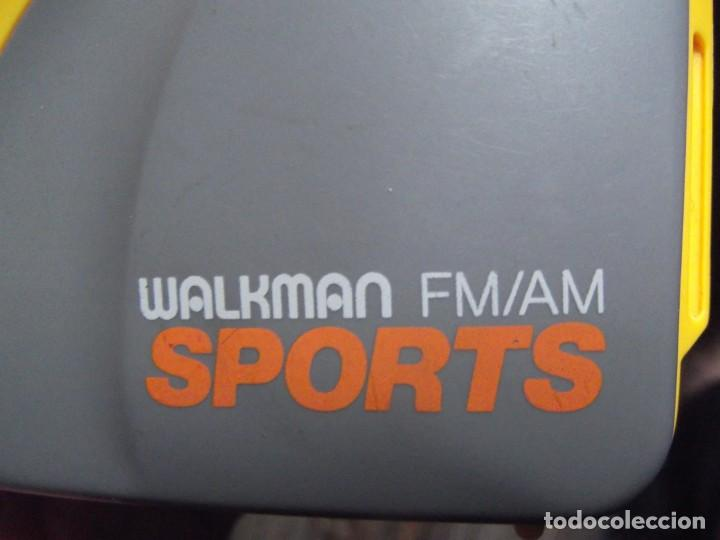 Casetes antiguos: Walkman Sony Nuevo Modelo SPORT del 92 se regala Bolsa Bandolera con compartimientos On Music - Foto 6 - 204313656