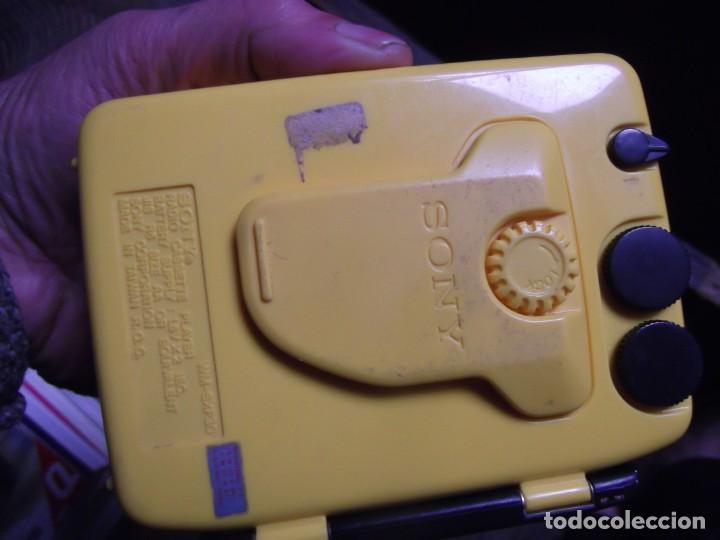 Casetes antiguos: Walkman Sony Nuevo Modelo SPORT del 92 se regala Bolsa Bandolera con compartimientos On Music - Foto 9 - 204313656