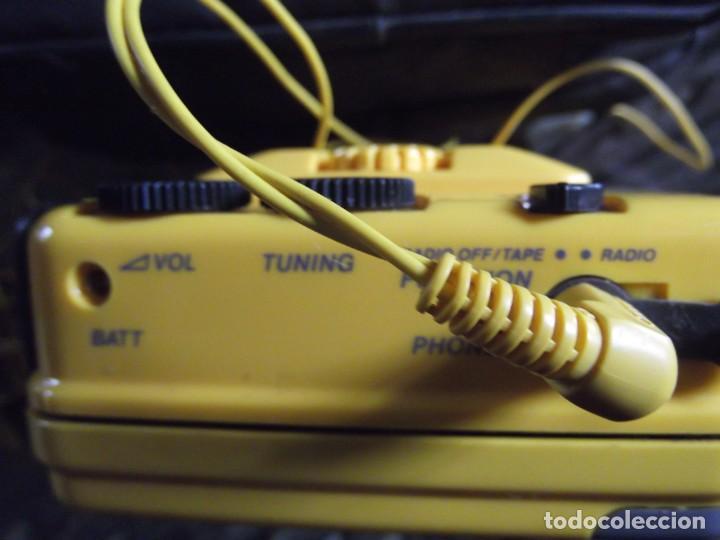 Casetes antiguos: Walkman Sony Nuevo Modelo SPORT del 92 se regala Bolsa Bandolera con compartimientos On Music - Foto 12 - 204313656