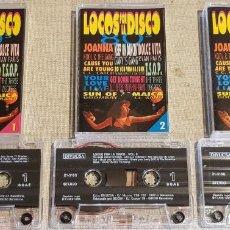 Casetes antiguos: LOCOS POR LA DISCO / TRIPLE MC - DIVUCSA-1994 / IMPECABLES.. Lote 204495653
