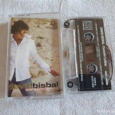 Cassetes antigas: DAVID BISBAL - CORAZÓN LATINO - 2002 - COMO NUEVO. Lote 205084976