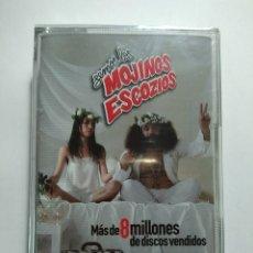 Casetes antiguos: SEMOS LOS MOJINOS ESCOZIOS .- PRECINTADO DE TIENDA. Lote 205116656