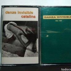 Casetes antiguos: DANZA INVISIBLE .- 2 CASSETES .- CATALINA Y 1984-1989 .- PRECINTADOS DE TIENDA. Lote 205117188