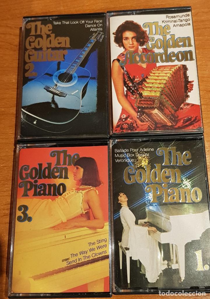 Casetes antiguos: THE GOLDEN GUITAR-SAX-TRUMPET-PIANO-ACCORDEON-FILM HITS / 12 CASETES IMPECABLES / CONJUNTO ESENCIAL. - Foto 3 - 205314726