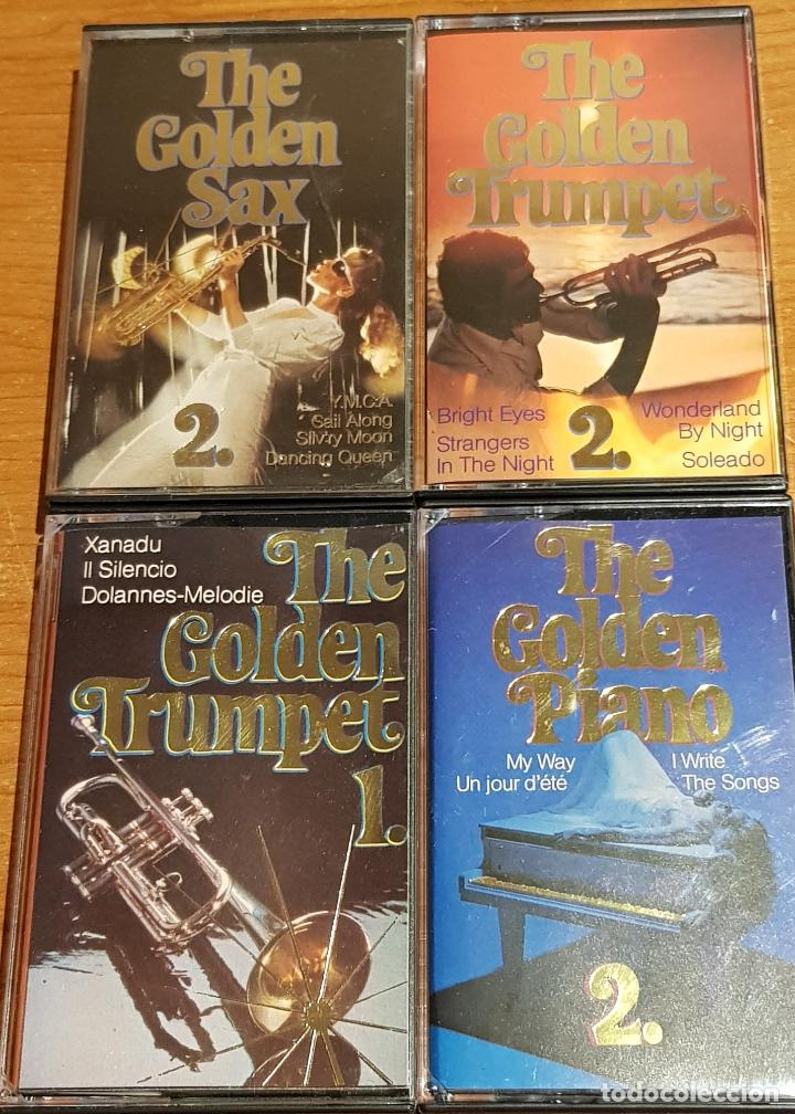 Casetes antiguos: THE GOLDEN GUITAR-SAX-TRUMPET-PIANO-ACCORDEON-FILM HITS / 12 CASETES IMPECABLES / CONJUNTO ESENCIAL. - Foto 4 - 205314726
