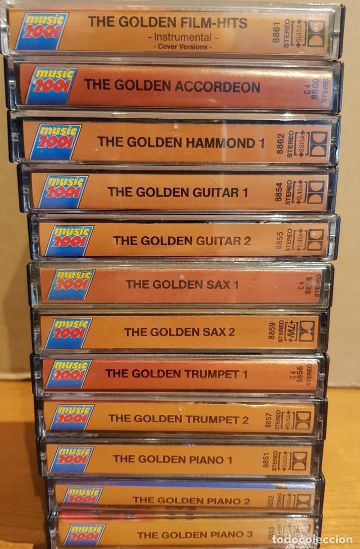 Casetes antiguos: THE GOLDEN GUITAR-SAX-TRUMPET-PIANO-ACCORDEON-FILM HITS / 12 CASETES IMPECABLES / CONJUNTO ESENCIAL. - Foto 7 - 205314726