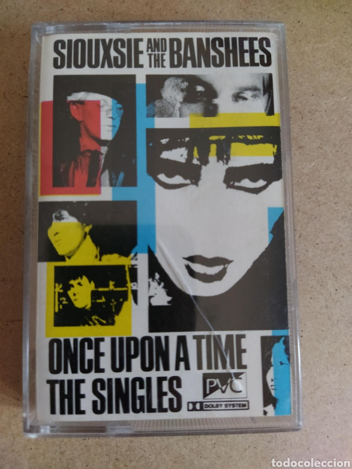 SIOUXSIE AND THE BANSHEES ONCE UPON A TIME THE SINGLES (Música - Casetes)