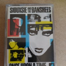 Casetes antiguos: SIOUXSIE AND THE BANSHEES ONCE UPON A TIME THE SINGLES. Lote 205358706
