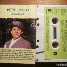 Casetes antiguos: CINTA DE CASSETTE - PEPE PINTO - REYES DEL CANTE - FLECH 1975. Lote 205601431