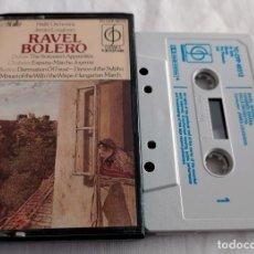 Casetes antiguos: CINTA CASSETTE - RAVEL - BOLERO. Lote 127565023
