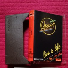 Cassette antiche: OPUS: LIVE IS LIFE.. Lote 205750456