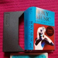 Cassette antiche: ROXY MUSIC: THE HIGH ROAD. CASSETTE LIVE IN CONCERT.. Lote 205751088