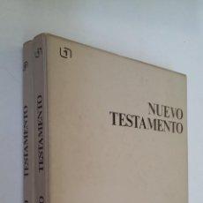 Casetes antiguos: NUEVO TESTAMENTO. EVANGELIOS SEGUN SAN LUCAS, JUAN, MATEO, MARCOS. 10 CASETES. EDITABOR TDK110. Lote 205834018