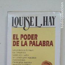 Casetes antiguos: EL PODER DE LA PALABRA - LOUISE L. HAY. EDICIONES URANO. TDK110. Lote 205834378