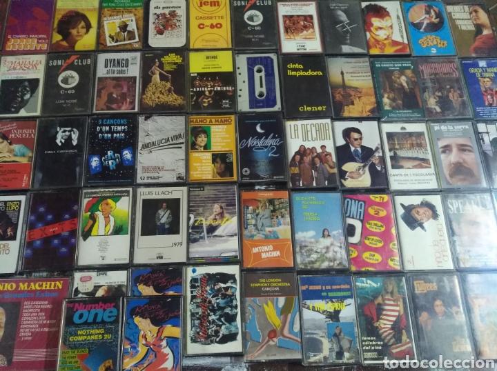 LOTE 150 CASSETTES (Música - Casetes)