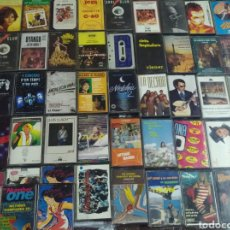 Casetes antiguos: LOTE 150 CASSETTES. Lote 206218797