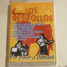 Casetes antiguos: LOS CENTOLLOS / POR AMOR A USTEDES / MC 1997 / IMPECABLE.. Lote 206263675