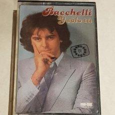 Casetes antiguos: BACCHELLI / Y SOLO TU ( EUROVISIÓN ) / MC - DB BELTER-1981 / IMPECABLE.. Lote 206267082