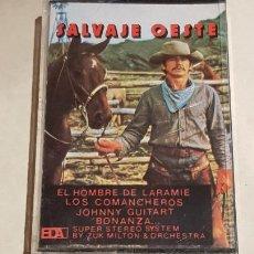 Casetes antiguos: SALVAJE OESTE / VARIOS INTERPRETES / MC - BDA-1977 / IMPECABLE.. Lote 206273158