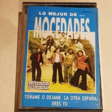 Casetes antiguos: LO MEJOR DE MOCEDADES / MC - ZAFIRO-1990 / IMPECABLE.. Lote 206273472