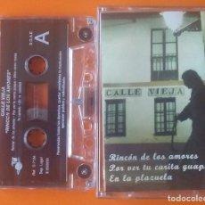 Cassetes antigas: CALLE VIEJA RINCON DE LOS AMORES J.J.RECORDS 2003. Lote 206764848