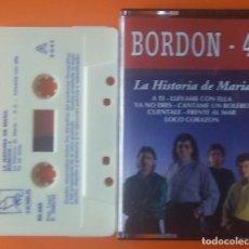 Cassetes antigas: BORDON 4 LA HISTORIA DE MARIA HORUS 1993. Lote 206764978