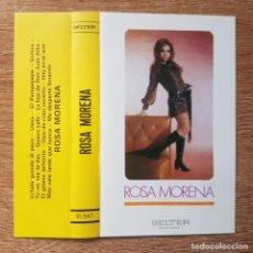 Cassette antiche: CASETE DE COPLA . ROSA MORENA. ÉCHALE GUINDAS AL PAVO. Lote 206939241