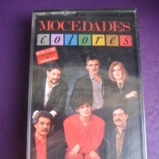 Casetes antiguos: MOCEDADES CBS CASETE 1986 PRECINTADA - COLORES - FOLK POP MELODICA - VERSION DONOVAN. Lote 207008178