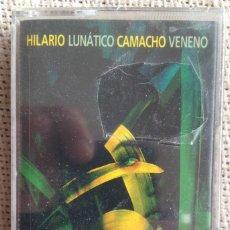 Casetes antiguos: HILARIO CAMACHO - LUNÁTICO VENENO - CASETE WARNER 1998 PRECINTADO. Lote 207044210