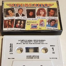 Casetes antiguos: SUPEREXITOS / VARIOS ARTISTAS / MC-SONY MUSIC / PROMO- ULTRA LENOR / IMPECABLE.. Lote 207077687