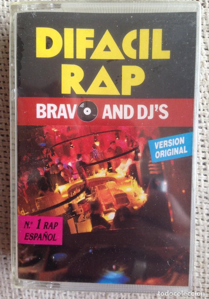 DEFACIL RAP - BRAVO AND DJ'S - CASETE IMPACT RECORDS 1990 PRECINTADO (Música - Casetes)