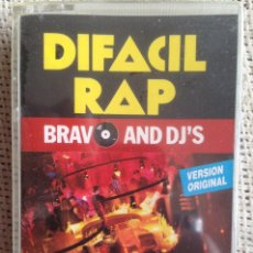 Casetes antiguos: DEFACIL RAP - BRAVO AND DJ'S - CASETE IMPACT RECORDS 1990 PRECINTADO. Lote 207085711