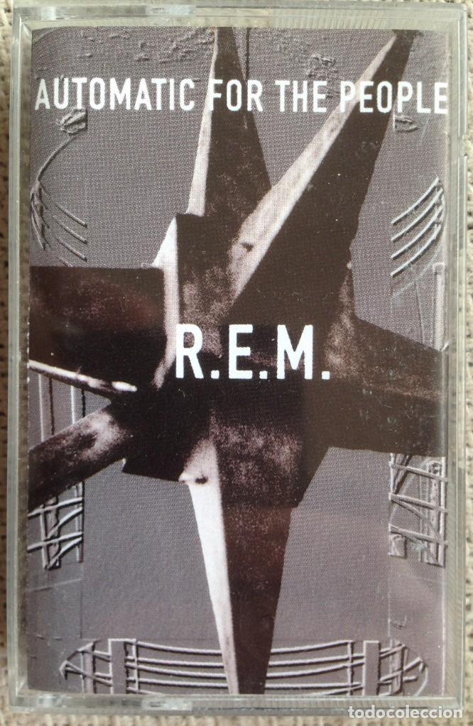 REM - AUTOMATIC FOR THE PEOPLE - CASETE - WARNER BROTHERS 1992 (Música - Casetes)