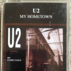 Casetes antiguos: U2 - MY HOMETOWN - CASETE - RED LINE/LIVE STORM 1994 EDICIÓN ITALIANA. GRABACIÓN NO OFICIAL.. Lote 207249332